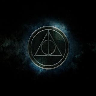 Deathly Hallows - Obrázkek zdarma pro iPad