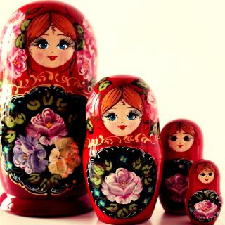 Nesting Doll - Russian Doll - Obrázkek zdarma pro iPad mini 2