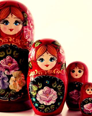 Nesting Doll - Russian Doll - Obrázkek zdarma pro Nokia Asha 203