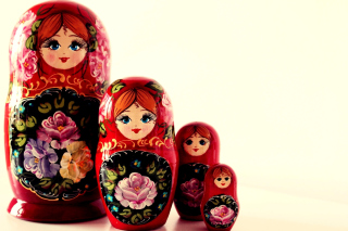 Nesting Doll - Russian Doll - Obrázkek zdarma pro 1366x768