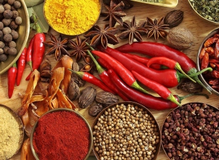 Indian spices and curry Wallpaper for Android, iPhone and iPad