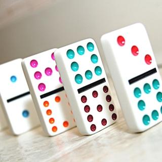 Domino board game - Obrázkek zdarma pro iPad Air