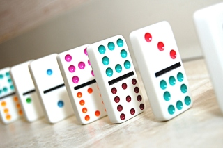 Domino board game Background for Android, iPhone and iPad