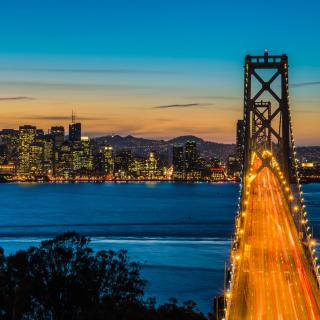 San Francisco, Oakland Bay Bridge - Obrázkek zdarma pro iPad mini
