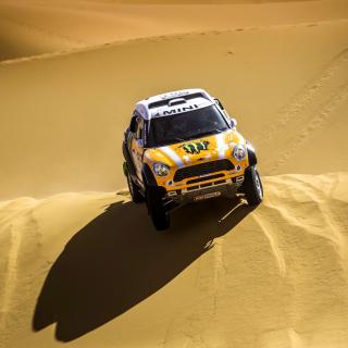 Mini Cooper Countryman Dakar Rally - Obrázkek zdarma pro iPad Air