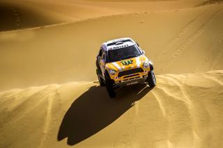 Mini Cooper Countryman Dakar Rally - Obrázkek zdarma pro HTC Wildfire