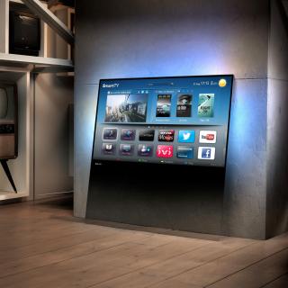 Smart TV with Internet - Obrázkek zdarma pro iPad