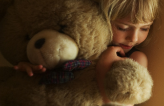 Cute Sleeping Baby Girl Picture for Android, iPhone and iPad