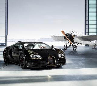 Bugatti And Airplane - Obrázkek zdarma pro iPad mini 2