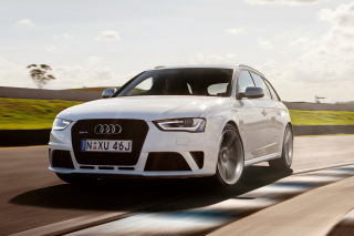 Free Audi RS4 Picture for Android, iPhone and iPad