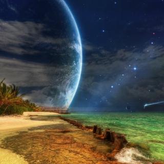 Magic Night - Obrázkek zdarma pro iPad mini