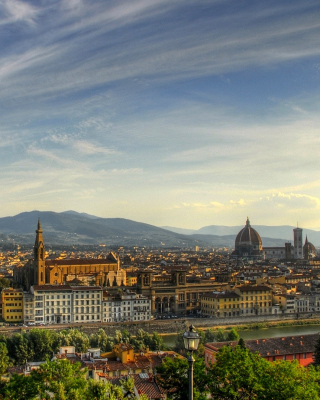 Florence Panoramic View - Obrázkek zdarma pro iPhone 4