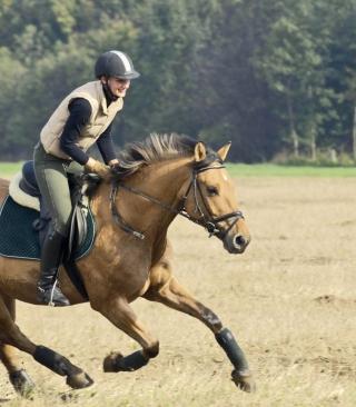 Horse Ride - Obrázkek zdarma pro Nokia Asha 308