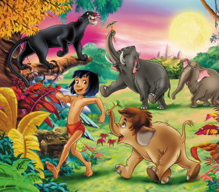 Jungle Book - Obrázkek zdarma pro iPad mini