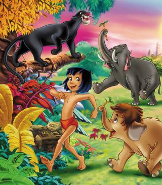 Jungle Book - Obrázkek zdarma pro Nokia Asha 303