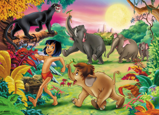 Jungle Book - Obrázkek zdarma pro Widescreen Desktop PC 1920x1080 Full HD