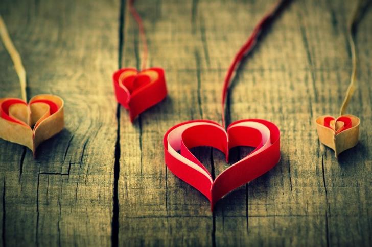 Creative hearts wallpaper