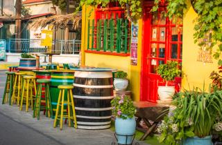Greek Tavern sfondi gratuiti per cellulari Android, iPhone, iPad e desktop