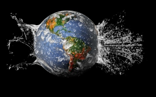 Planet Needs Shower Picture for Android, iPhone and iPad