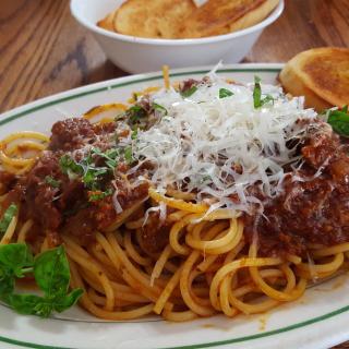 Spaghetti bolognese - Obrázkek zdarma pro iPad Air