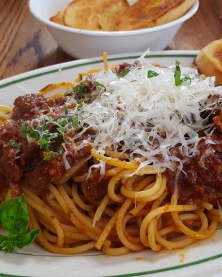 Spaghetti bolognese - Obrázkek zdarma pro Nokia Asha 305