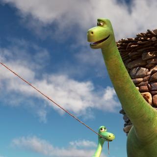 The Good Dinosaur - Obrázkek zdarma pro iPad Air