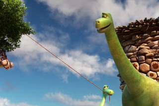 The Good Dinosaur - Obrázkek zdarma pro Widescreen Desktop PC 1920x1080 Full HD