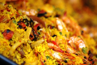 Paella Background for Android, iPhone and iPad
