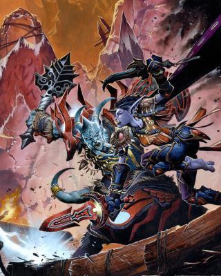 World of Warcraft - Obrázkek zdarma pro Nokia Asha 203