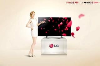 LG Smart TV - Obrázkek zdarma pro Samsung P1000 Galaxy Tab