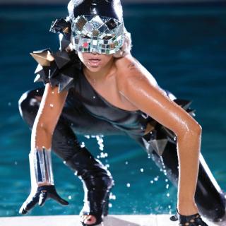 Lady Gaga Poker Face - Obrázkek zdarma pro 2048x2048
