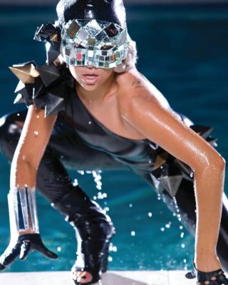 Lady Gaga Poker Face - Obrázkek zdarma pro Nokia C-Series