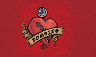 Zombies Heart Picture for Android, iPhone and iPad