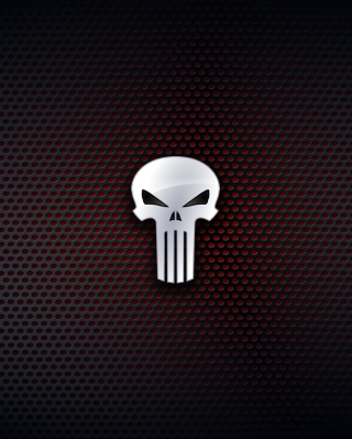 The Punisher, Marvel Comics - Obrázkek zdarma pro iPhone 4