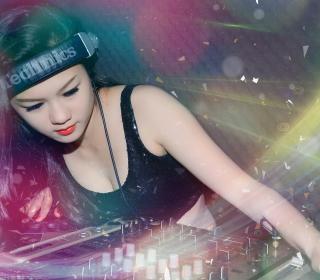 Asian Dj Girl - Obrázkek zdarma pro 1024x1024