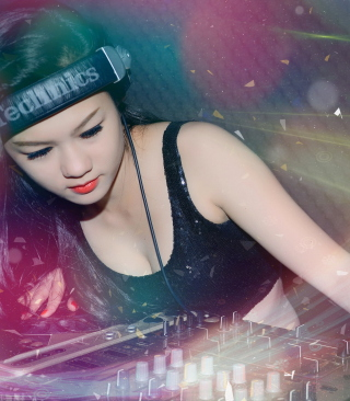Asian Dj Girl - Obrázkek zdarma pro Nokia 206 Asha