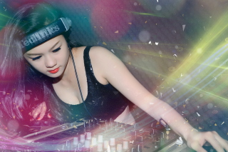 Free Asian Dj Girl Picture for Android, iPhone and iPad