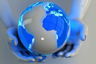Globe - Obrázkek zdarma pro Samsung Galaxy Grand 2