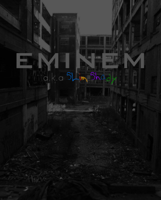 Eminem - Slim Shady - Obrázkek zdarma pro 240x320