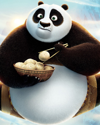 Free Kung Fu Panda 3 HD Picture for LG 230 Simple Flip