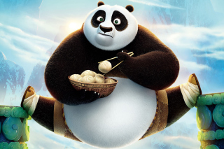 Kung Fu Panda 3 HD Background for Android, iPhone and iPad