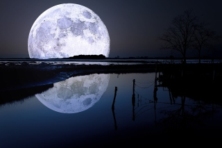 Full Moon Wallpaper for Android, iPhone and iPad