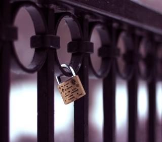 Forever Love Lock - Obrázkek zdarma pro 128x128