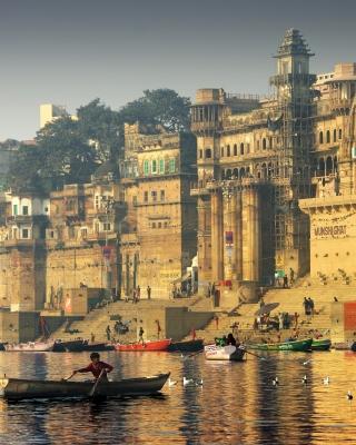 Varanasi City in India - Obrázkek zdarma pro Nokia Asha 310