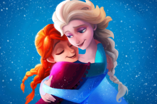 Frozen Sisters Elsa and Anna Picture for Android, iPhone and iPad