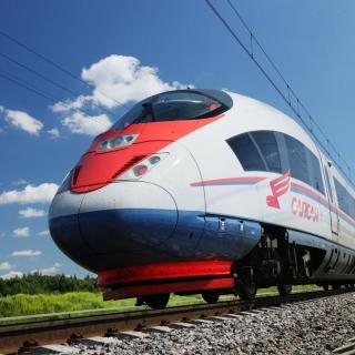 Sapsan Train - Obrázkek zdarma pro 1024x1024
