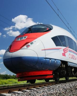 Sapsan Train - Obrázkek zdarma pro 240x400