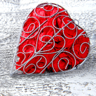 Red Heart - Obrázkek zdarma pro iPad Air