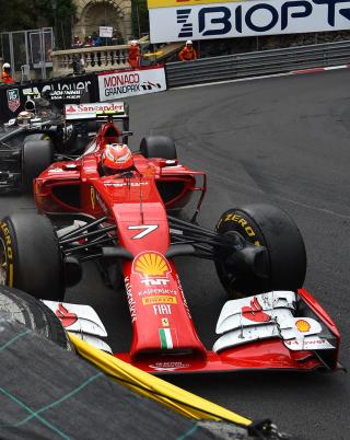 Ferrari Formula 1 Monaco - Obrázkek zdarma pro Nokia C1-01