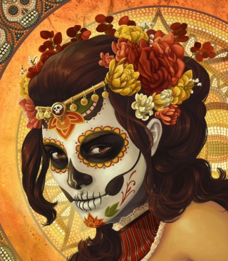 Dia De Muertos - Obrázkek zdarma pro 360x400